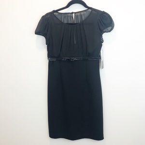 K Petite   Black dress NWT